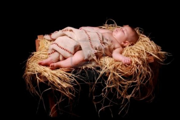 7352204-baby-jesus-asleep-in-the-manger - Copy