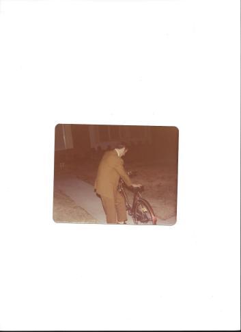 Al & his bike