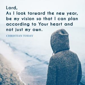 New Year:Be My Vision
